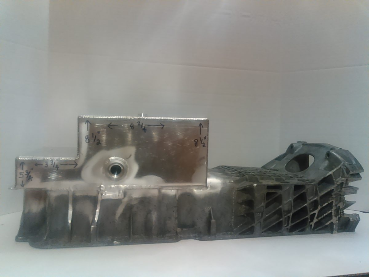 A-MB102 Oil Pan Assy